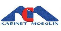 Logo cabinet moeglin, cabinet actuaires experts en conseil, logiciel et formation assurance